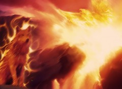 Fonds d'écran Art - Numérique In Flames