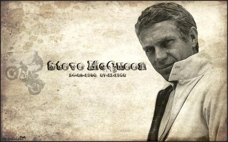 Fonds d'écran Célébrités Homme Steve Mcqueen Steve McQueen Version2