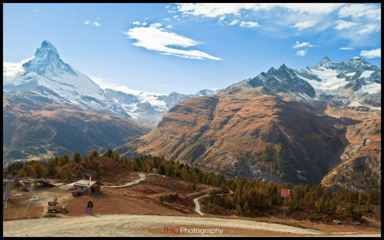 Fonds d'écran Voyages : Europe Suisse Zermatt et le Cervin / Matterhorn