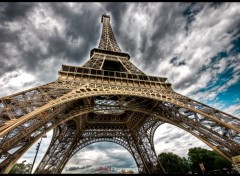 Wallpapers Trips : Europ Paris - Crazy Eiffel tower