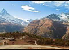 Fonds d'écran Voyages : Europe Zermatt et le Cervin / Matterhorn