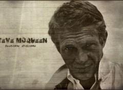 Fonds d'écran Célébrités Homme Steve McQueen Version3