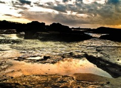 Wallpapers Nature casa plage 1