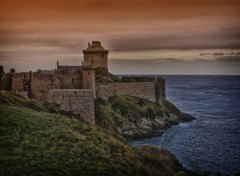 Wallpapers Trips : Europ Fort la Latte in HDR