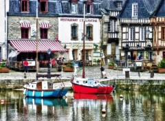 Fonds d'écran Voyages : Europe Porto di Auray in HDR