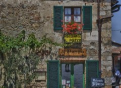 Fonds d'écran Voyages : Europe Ristorante a Siena in HDR
