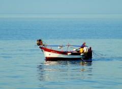 Fonds d'écran Bateaux petit bateaux de pêche en corse