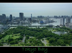 Fonds d'écran Voyages : Asie Tokyo Bay from Shiodome