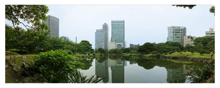 Fonds d'écran Voyages : Asie Japon Hama Rikyu, Tokyo