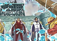 Fonds d'écran Manga Amiraux