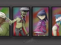 Wallpapers Music gorillaz'