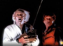 Fonds d'écran Cinéma Bon sang Marty !