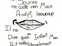 Wallpapers Art - Pencil ton Sourire :)