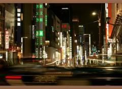 Fonds d'écran Voyages : Asie Tokyo by night