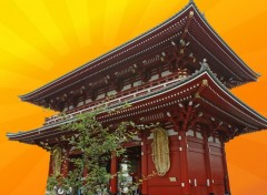 Fonds d'écran Voyages : Asie Temple Sensoji - Asakusa - Tokyo