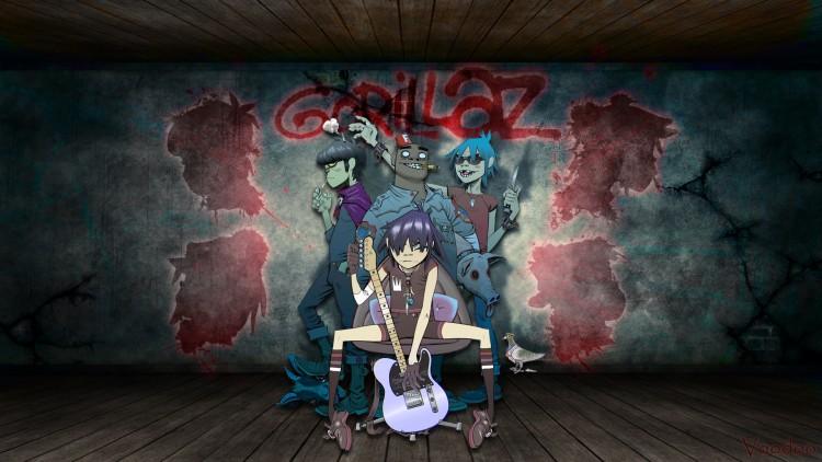 Fonds d'écran Musique Gorillaz Gorillaz