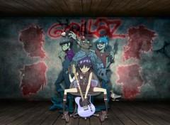 Fonds d'écran Musique Gorillaz