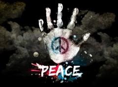 Fonds d'écran Art - Numérique peace