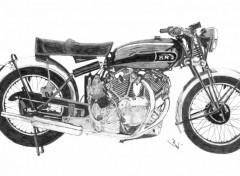 Fonds d'écran Art - Crayon Vincent HRD Black Shadow 1950