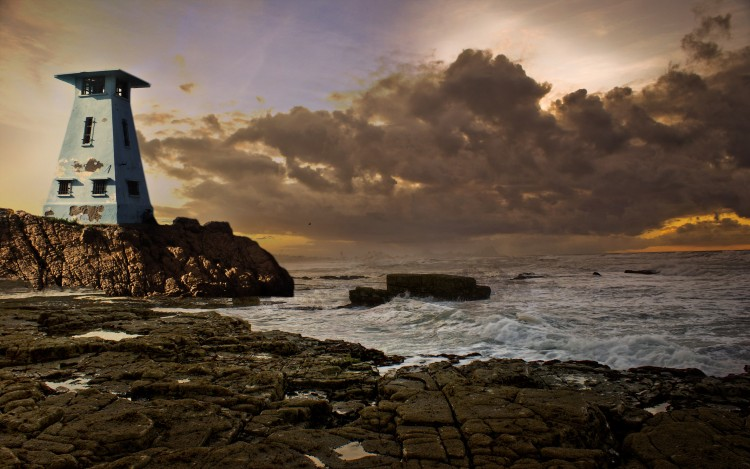Wallpapers Nature Seas - Oceans - Beaches casa plage