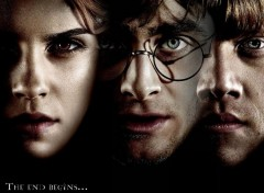 Wallpapers Movies Trio : Hermione, Harry et Ron.