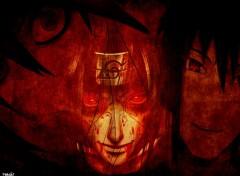 Fonds d'écran Manga sasuke et itachi