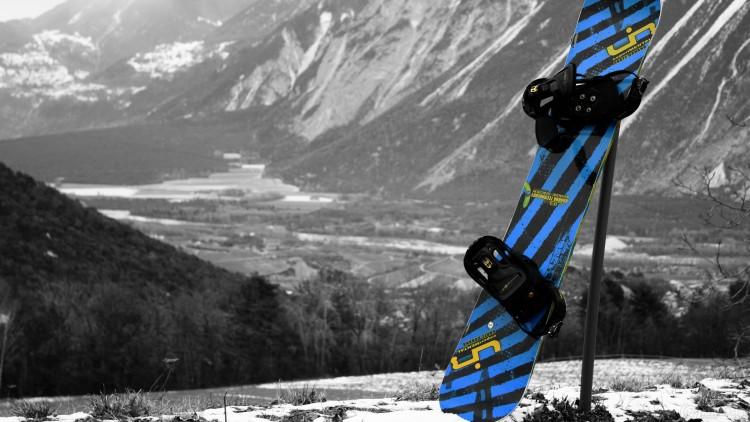 Fonds d'écran Sports - Loisirs Snowboard Il est grand temps!