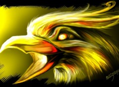 Wallpapers Digital Art Aigle d'or