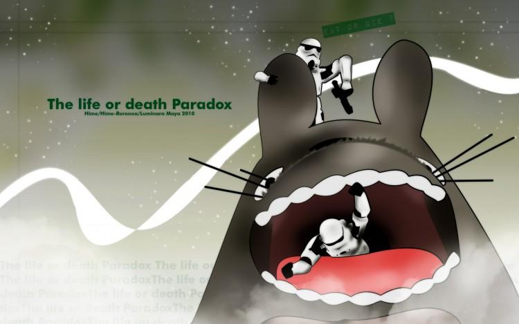 Fonds d'écran Dessins Animés Mon Voisin Totoro the life or death paradox