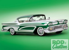 Wallpapers Cars chevrolet impala (1958)