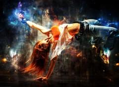 Fonds d'écran Art - Numérique break dance
