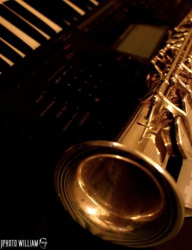 Wallpapers Music Musical Instruments saxo-piano