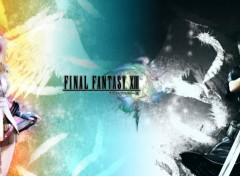 Wallpapers Video Games Light or  night Final Fantasy XIII