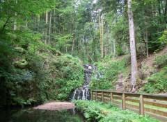 Fonds d'écran Nature Cascade de Faymont