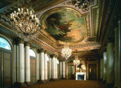 Wallpapers Constructions and architecture Salon Napoléon - Hôtel The Westin Paris