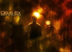 Fonds d'écran Jeux Vidéo Deus ex human revolution