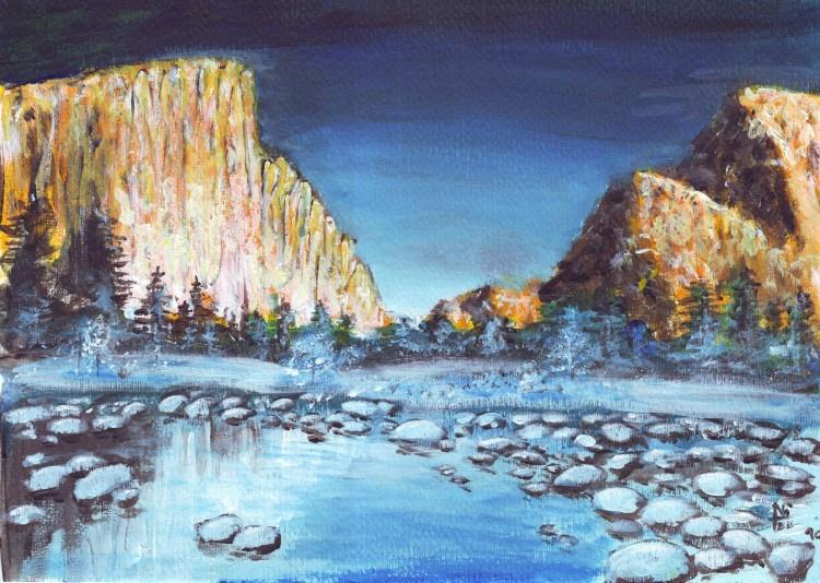 Fonds d'écran Art - Peinture Paysages Divers Paysage