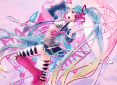 Wallpapers Digital Art Hatsune Miku