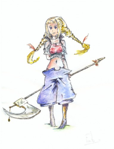 Wallpapers Art - Painting Characters final fantasy