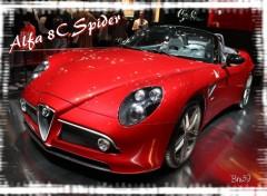 Fonds d'écran Voitures Alfa 8C Spider