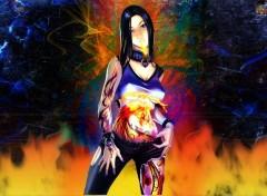 Fonds d'écran Art - Numérique Fire breath