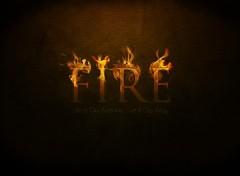 Fonds d'écran Art - Numérique Fire