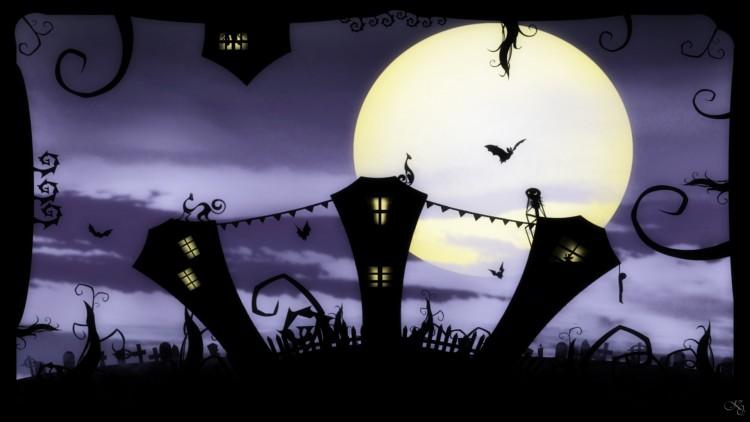 Wallpapers Digital Art Hollidays - Halloween jack's world