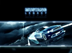 Wallpapers Cars Mustang Legacy
