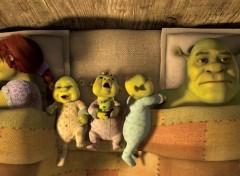 Fonds d'écran Dessins Animés Shrek 4 - Il Etait une Fin