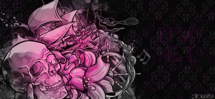 Fonds d'écran Art - Peinture Abstrait IN MY HEAD