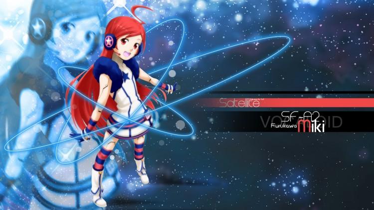 Wallpapers Manga Vocaloïds SF-A2 Miki Satellite