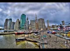 Fonds d'écran Voyages : Amérique du nord Les Quais de New-York