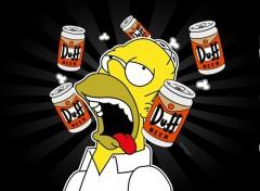 Fonds d'écran Dessins Animés Homer's Saying