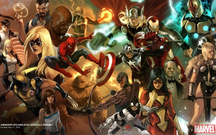 Fonds d'écran Comics et BDs Avengers avengers